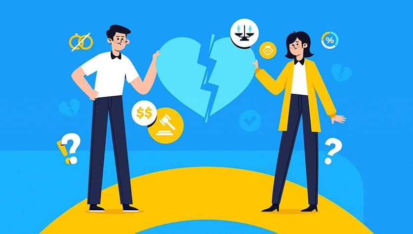 Жене – недвижимость, мужу – долги?